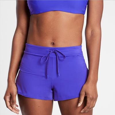 Athleta Wavebreak Swim Shorts
