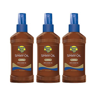Banana Boat Deep Tanning Oil Spray With Coconut Oil
