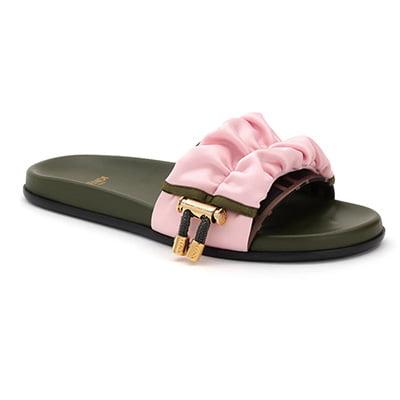 Fendi x Sarah Coleman FF Vertigo Slide Sandals