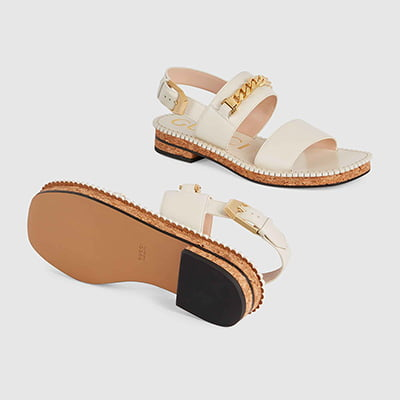 Gucci Women's Sandal with Chain