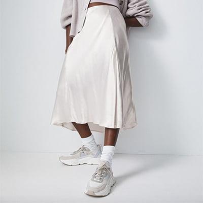 H&M Slip-Style Skirt