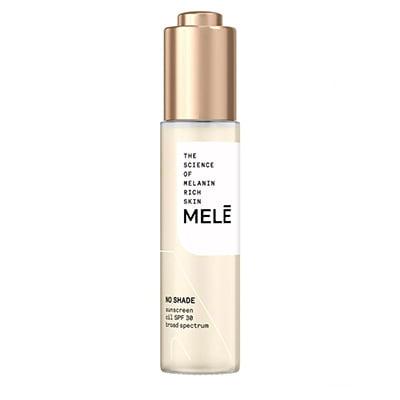 Mele No Shade Sunscreen Oil Broad Spectrum for Melanin Rich Skin