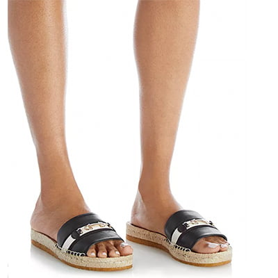 Salvatore Ferragamo Women's Espadrille Slide Sandals