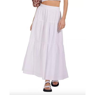 Staud Sea Maxi Skirt