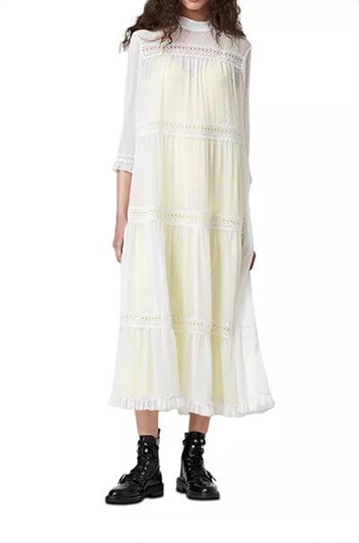 All Saints Nima Dobby Dress