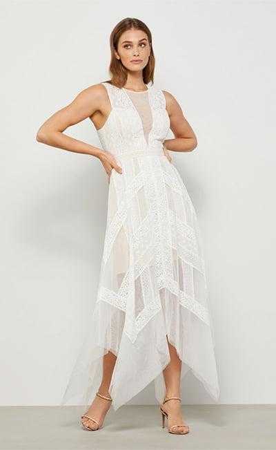 Andi Handkerchief Dress By BCBGMAXAZRIA