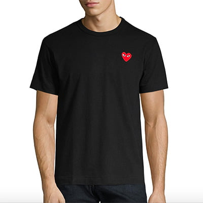 Comme des Garcons Play Heart Tee