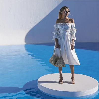 Cultgaia Stella White Dress