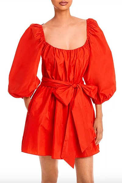 Delilah Puff Sleeve Dress by Cinq à Sept