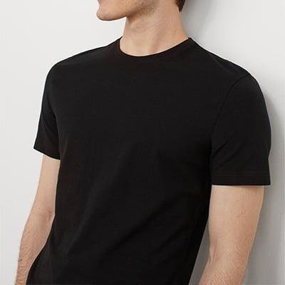 H&M 3-Pack Slim Fit T-Shirts