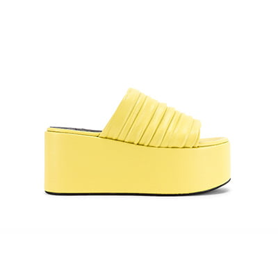 SIMON MILLER Vegan Coaster Platform Sandal