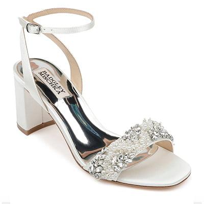 Badgley Mischka Collection Clara Embellished Sandal