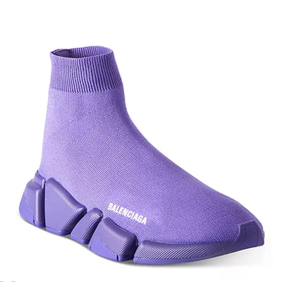 Balenciaga Women's Speed 2.0 Knit High-Top Sock Sneaker