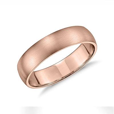 Blue Nile Matte Classic Wedding Ring