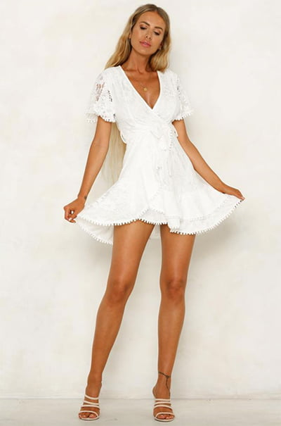 Hello Molly Darling Days White Dress