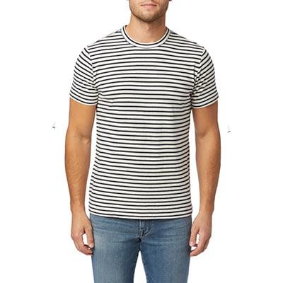 Joe's Men's Hemp and Cotton Stripe Shirt