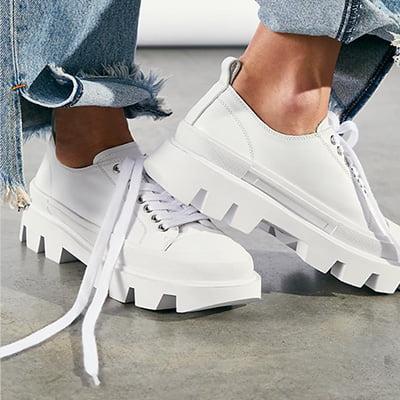 Luna Lug Lace Up Sneakers