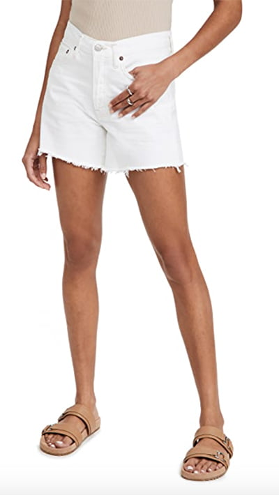 Parker Long Loose Shorts By Agolde