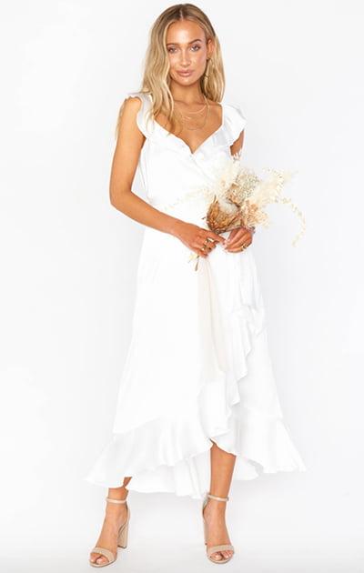 Show Me Your Mumu The Samantha Ruffle Wrap Dress