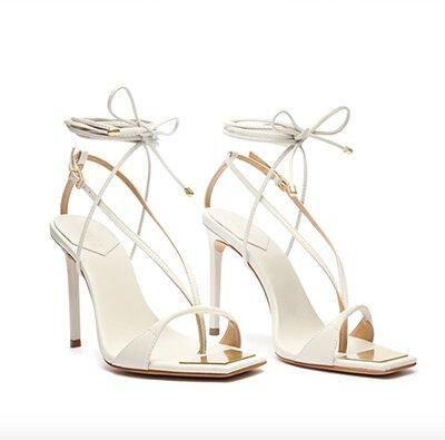 Vikki Leather Sandal
