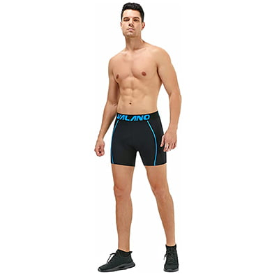 Vilano Men's Cycling Shorts Bike Underwear 3D Padded