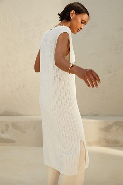 H&M Pointelle Knit Dress