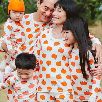 Hanna Andersson Jack O' Lantern Family Halloween Pajamas