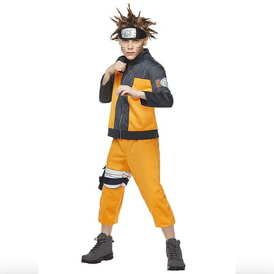 Kid's Naruto Costume Set