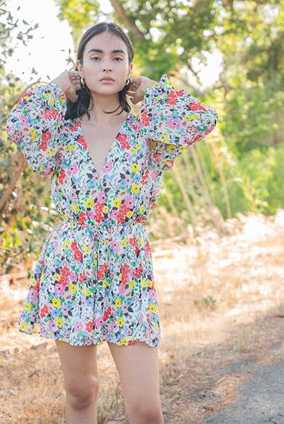 Naomi Romper By Yumi Kim