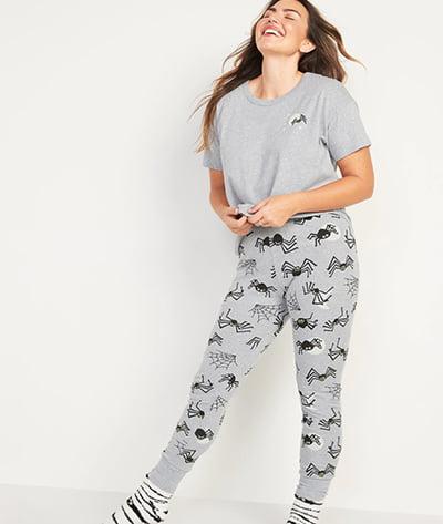Old Navy Halloween Matching Graphic Pajama Set for Women