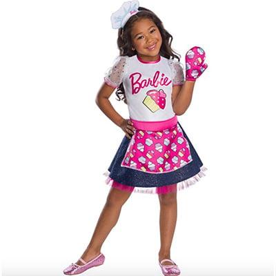 Rubie's Girl's Barbie Baker Chef Costume