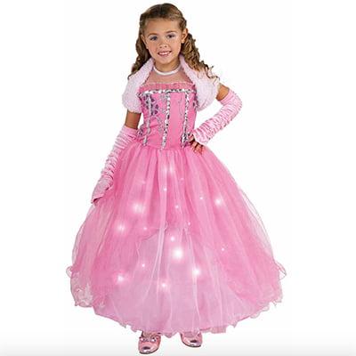 Rubie's Light-Up Princess Dress Girl's Halloween Costume