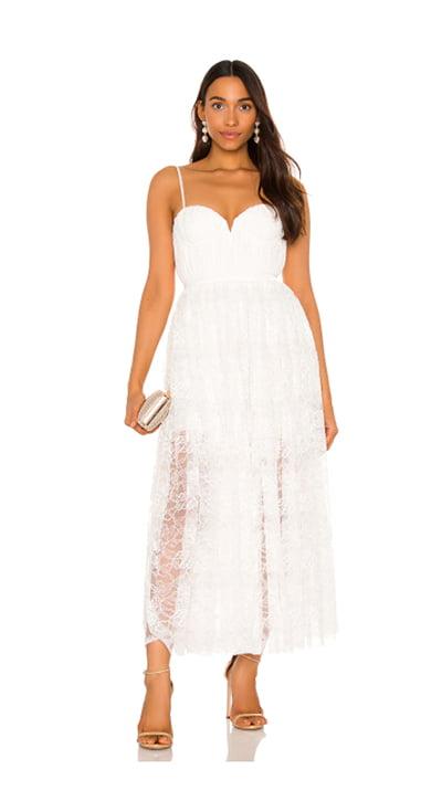 Sau Lee Selena Lace Dress