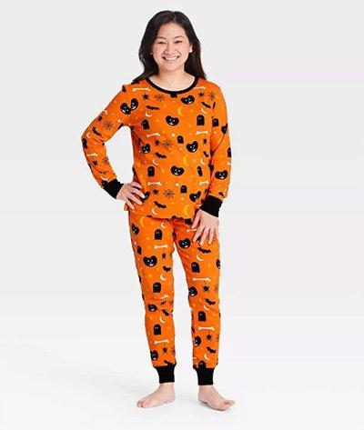 Target Women's Halloween Spooky Print Pajama Set