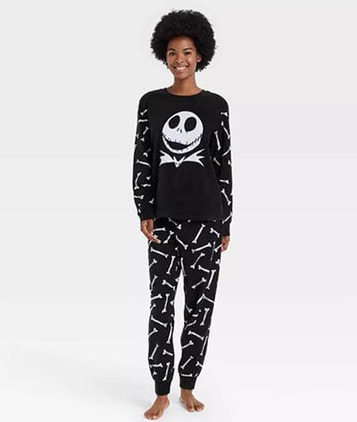 The Nightmare Before Christmas Jack The Pumpkin King Two-Piece Halloween Pajama Set