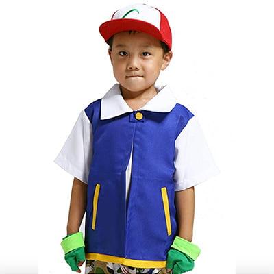 Trainer Hoodie Cosplay Costume Set