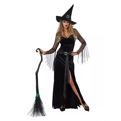 California Costumes Rich Witch Adult Halloween Costume