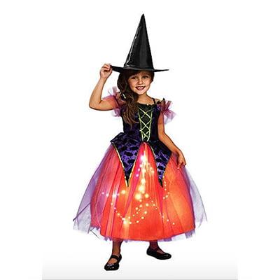 Rubie's Light-Up Witch Dress Children's Halloween Costume